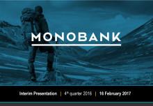 MONOBANK Q4 2016 Presentation