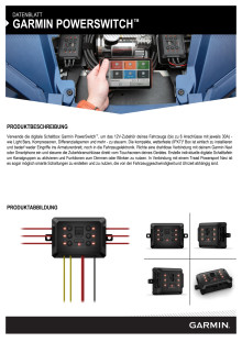 Datenblatt Garmin PowerSwitch