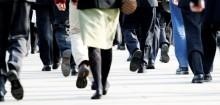 Walk a marathon a fortnight by getting the bus!