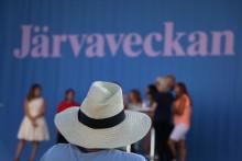 Ungdomarna tar plats under Järvaveckan 2019