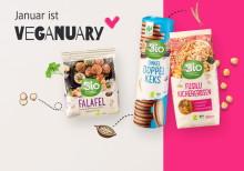 Veganuary: Vegan durch den Januar mit dmBio