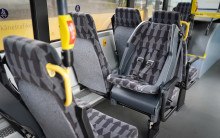 Fasta barnstolar ska öka säkerheten på Skånes regionbussar