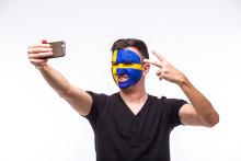 Matchen i mobilen: Datatrafiken exploderade inför Sveriges avspark