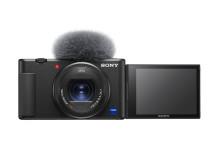 Sony révèle le potentiel créatif des vidéastes avec l'appareil Vlog ZV-1, conçu pour le vlogging et le caméscope 4K compact FDR-AX43