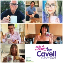 Cavell Nurses' Trust Cake and a Cuppa afternoon