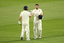 Sibley and Lawrence hit centuries for England Lions on day one against Australia A at MCG