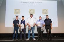 Spotlight on apprentice success at Thatcham Research graduation ceremony