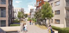 Två nya gröna bostadsområden i östra Dalby