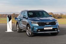 KIA annoncerer den elektriske rækkevidde og ultra lave emissioner på den nye Sorento Plug-in Hybrid