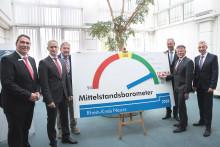 """Mittelstandsbarometer 2018: Regionale Wirtschaft """"boomt"""" weiter"""