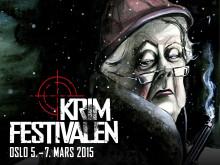 Krimfestivalens program er klart med store norske og utenlandske navn.