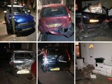 Ban for drink-driver who crashed into 14 parked cars