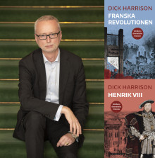 Produktive Dick Harrison aktuell  med nya titlar i Historiska Medias  bokserie om världens historia