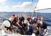 Merseyside Police Cadets take part in Merseyside Adventure Sailing Trust (MAST) Apprentice Ship Cup Irish Sea tall ship regatta