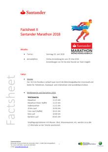 Factsheet 2 Santander Marathon 2018