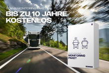 Neu: Scania Monitoring Paket für bis zu 10 Jahre kostenlos