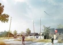 Riddersborgparken - fra boligbebyggelse til haveby /Arkitema vinder omfattende renovering af Riddersborgparken i Nakskov