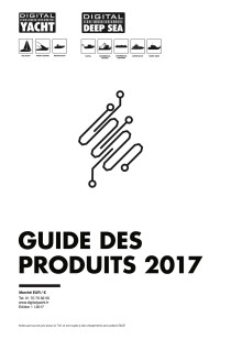 Catalogue des produits Digital Yacht 2017 - Nautic Paris
