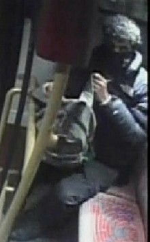 Appeal to identify man after woman sexually assaulted on a bus
