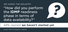 Have you initiated the IDMP readiness phase?