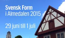 Svensk Form i Almedalen 2015