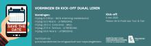 Kick-off Duaal Leren 2020