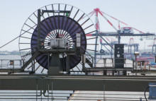 Cavotec reels on world's largest quay cranes