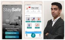 Tvåa i global tävling - nu vill TIS-eleven Shariq hjälpa människor i coronakrisen med sin app