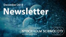 Stockholm Science City Newsletter - December 2018