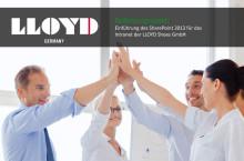 Kundenreferenz: Einführung des SharePoint 2013 für das Intranet der LLOYD Shoes GmbH