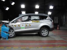 Ford dominerar 2012 års Euro NCAP:s Best-in-Class med Kuga, Transit Custom och B-MAX i säkerhetstoppen