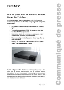 Communication de presse_CES 2015_Blu-ray Player_F-CH_150106
