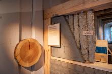 Utställningen Hållbara hus öppnar på Nynäs - Om hållbart byggande med naturliga material