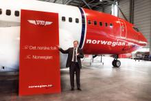 Norwegian gir heldig vinner muligheten til å vinne et fly