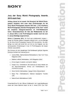 Medienmitteilung_SWPA 2015 Jury_D-CH_141209