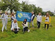Gemeinsam für das Ruhrgebiet: Ruhr Tourismus-Team beim RuhrCleanUp dabei