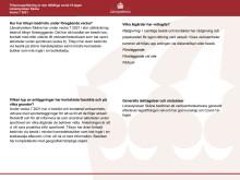Vecka 7 Uppföljningen av Länsstyrelsen Skånes pandemitillsyn