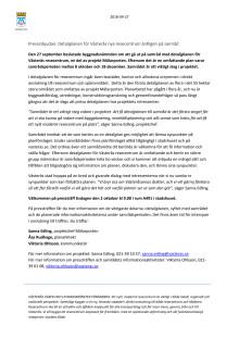 Pressinbjudan: Detaljplanen för Västerås nya resecentrum äntligen på samråd