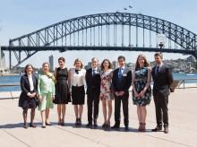 Dansk-australsk udvekslingsprogram skudt i gang af H.K.H. Kronprins Frederik