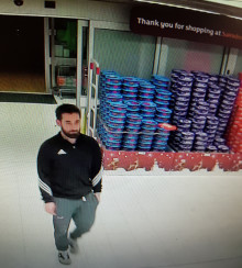CCTV appeal to identify man in Burpham Sainsbury's in connection with sexual assault