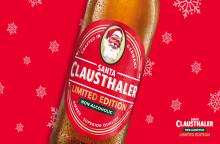Nyhet! En riktigt god och vit jul med Santa Clausthaler!