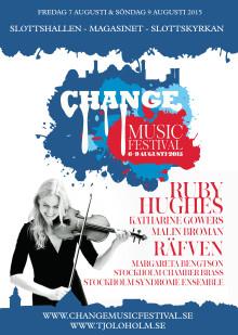 Sveriges Radio P2 spelar in en konsert under årets Change Music Festival