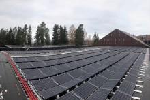 Stange Energi leverer Hamar kommunes største solenergiprosjekt