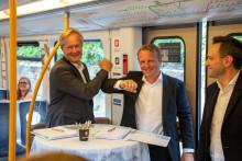 Sporveien først i verden til å styre T-banen over mobilnettet