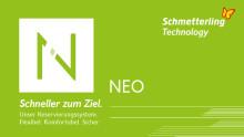 Buchen mit NEO: Jetzt aufs Schmetterling-CRS umsteigen und Technik-Kosten sparen