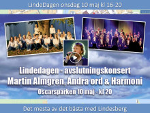 LindeDagen 10 maj: Två veckor kvar
