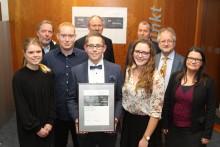 Jungakademiker der Technischen Hochschule OWL aus Höxter erhalten Energy Award 2019