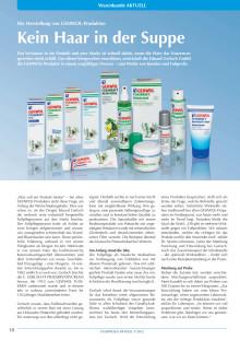 Kein Haar in der Suppe: Die Herstellung von GEHWOL-Produkten