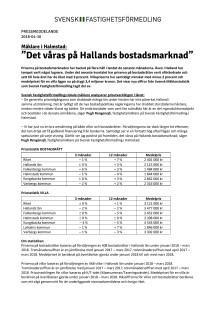 """Mäklare i Halmstad: """"Det våras på Hallands bostadsmarknad"""""""