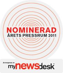 Findus nominerade till Årets Pressrum 2011